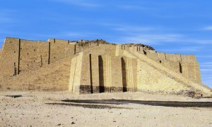 Abraham's Family Temple at Ur, South of Baghdad