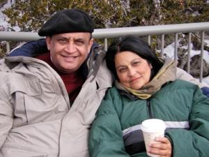 Nayla & Asarulislam Syed, 2008 Lake Tahoe, California